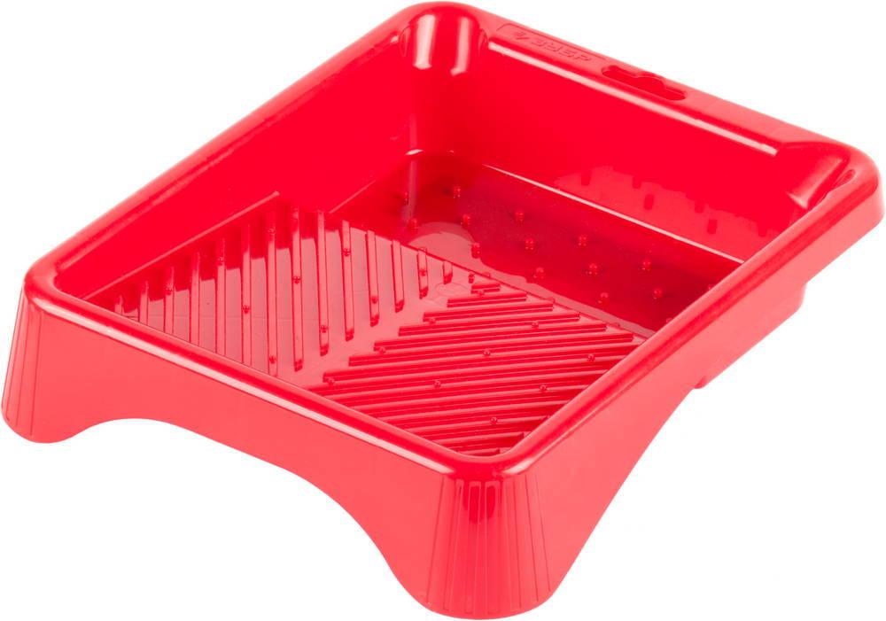 Ванночка ЗУБР малярная пластмассовая, для валиков до 140 мм