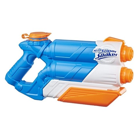 Nerf: Водный бластер Super soaker Twin tide E0024 — Nerf Super Soaker Twin Tide — Нерф Нёрф Хасбро