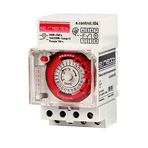 Таймер электромеханический Enext t04