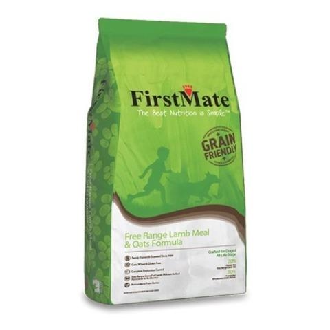 FirstMate Free Range Lamb Meal & Oats сухой низкозерновой корм для щенков и взрослых собак с ягненком и овсом 20 кг.