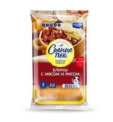 """Блины """"Сибирский гурман"""" Солнцепек с мясом и рисом 420 г"""