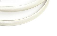 Ободок 1 см, пластиковый с атласной тканью, 1 шт.