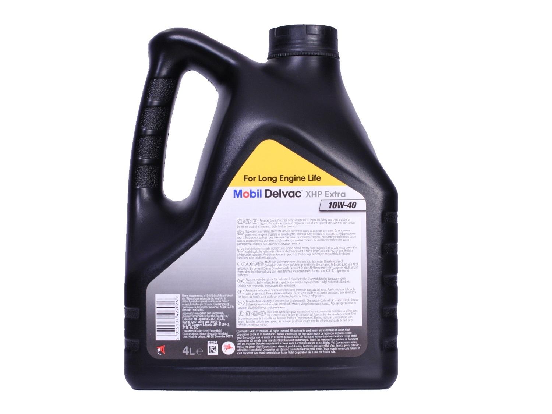 Mobil Delvac XHP Extra 10W40 Синтетическое моторное масло для дизеля