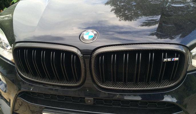Карбоновые рамки решетки радиатора для BMW X5 M F85