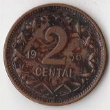 K7111, 1936, Литва, 2 цента