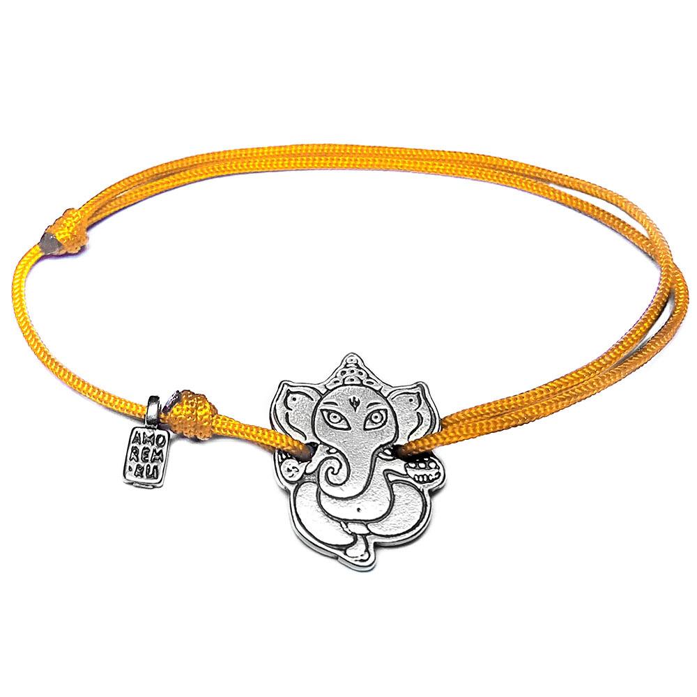 Ganesh bracelet, Sterling Silver