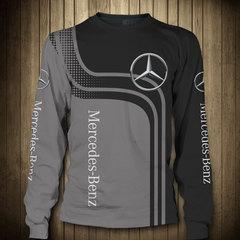 Толстовка 3D принт, Mercedes-Benz (3Д Свитшот Мерседес-Бенц) 01