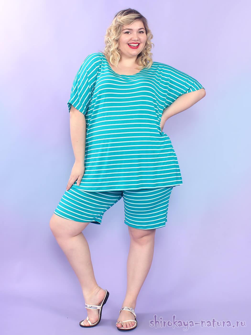 женские шорты больших размеров интернет магазин