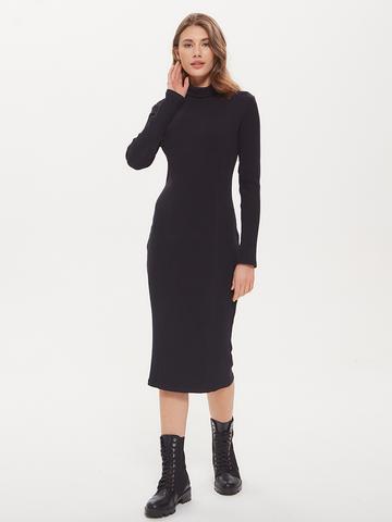 Платье лапша длин. Черный