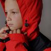 Детский Горнолыжный Костюм  Jr. Extreme Black/Red