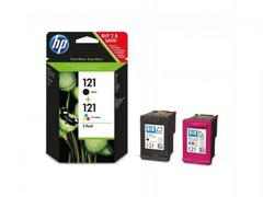 Комплект картриджей HP 121 чёрный/цветной (CN637HE)