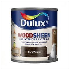 Лак-морилка для деревяннфх поверхностей Dulux WOODSHEEN (темный орех)