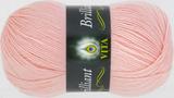 Пряжа Vita Brilliant нежно-розовый 5109