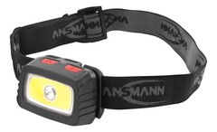 Фонарь налобный ANSMANN Headlight-HD200B + 3AAA
