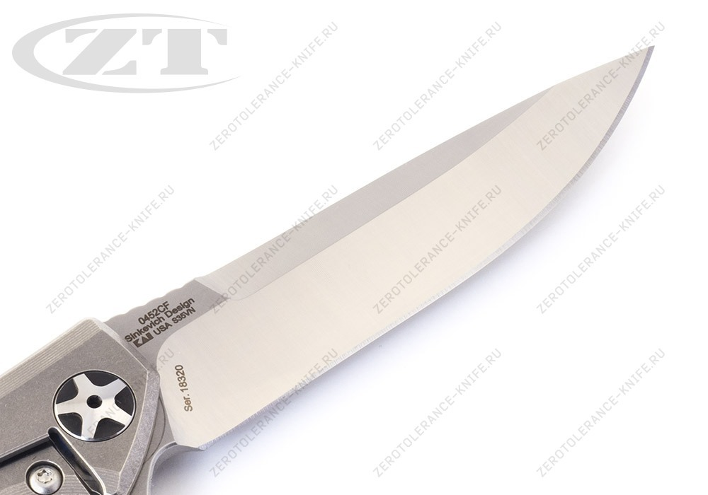 Нож Zero Tolerance 0452CF Sinkevich - фотография