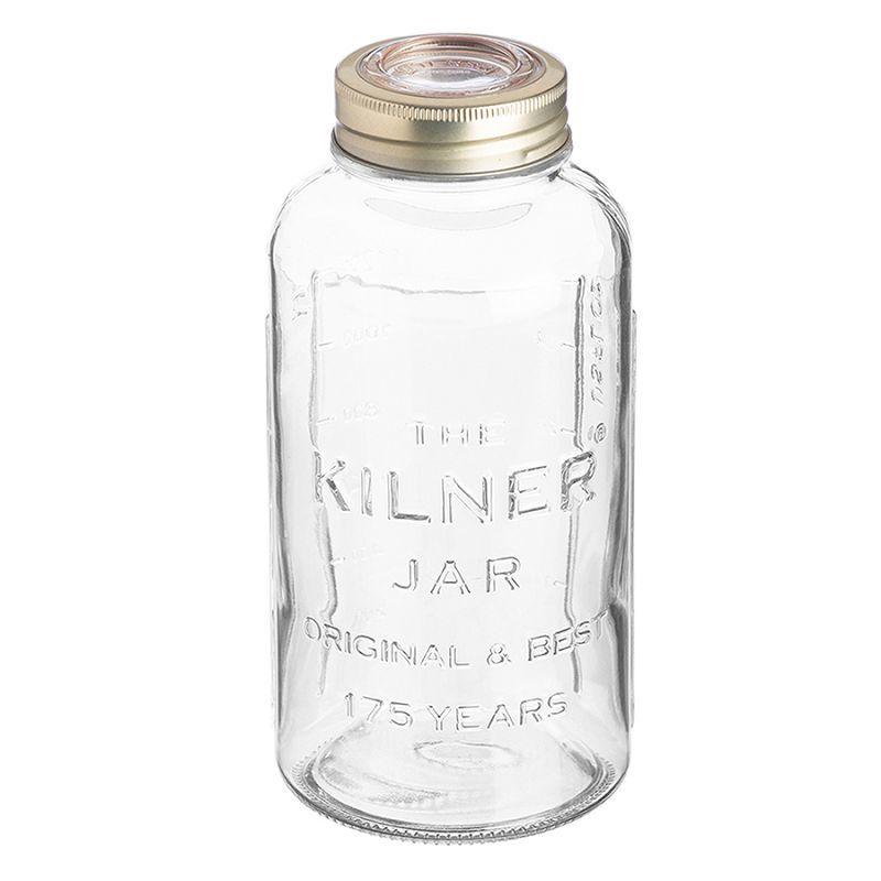 Банка Kilner со стеклянной вакуумной крышкой, 1,5 л