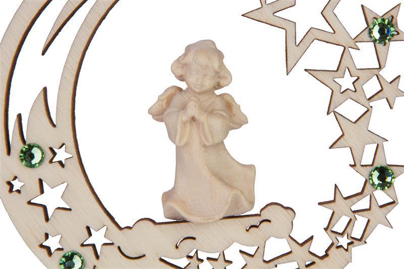 Ангел в молитве со стразами Сваровски