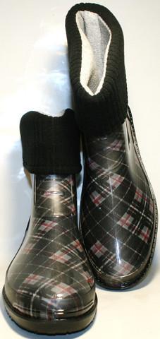 Теплые резиновые сапоги женские. Резиновые сапоги с утеплителем ALS - XA.
