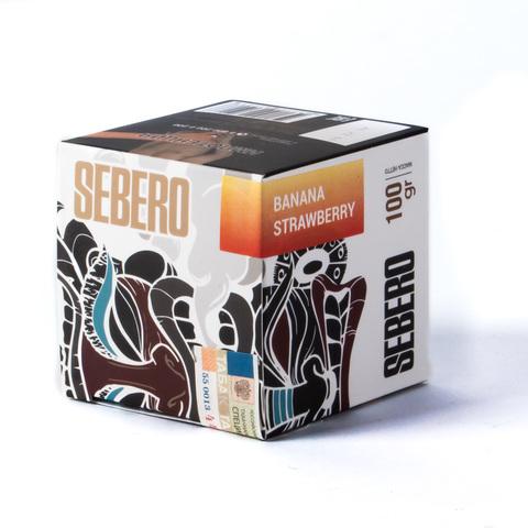 Табак Sebero Banana Strawberry (Банан Клубника) 100 г
