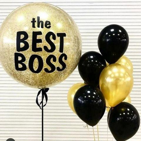 Набор шаров The Best Boss