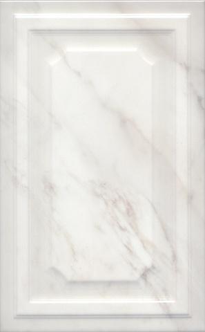 Плитка настенная Гран Пале белый панель 6357  250х400