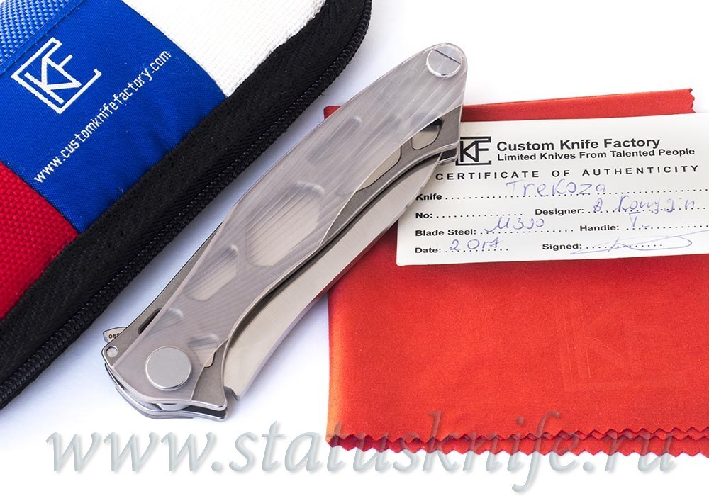 Нож CKF Трекоза Alexey Konygin Design Sale Card