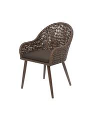 Кресло садовое Illumax Palermo Brown