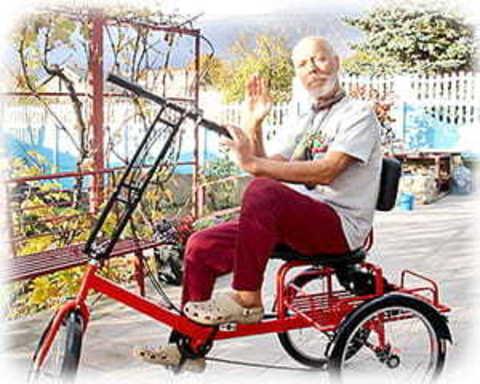 Триколісні велосипеди для літніх людей