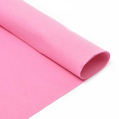 Фоамиран 1мм, 50*50 см, розовый