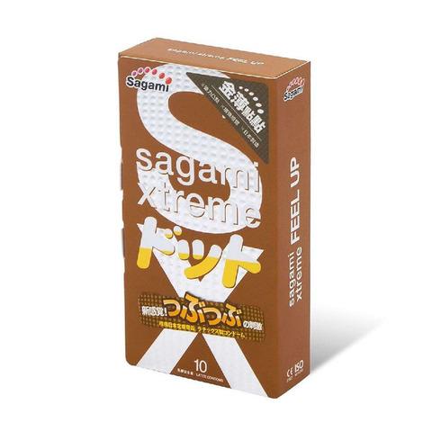 Sagami Xtreme Feel UP 10шт. Презервативы усиливающие ощущения