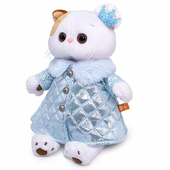 Кошечка Лили в стёганом пальто