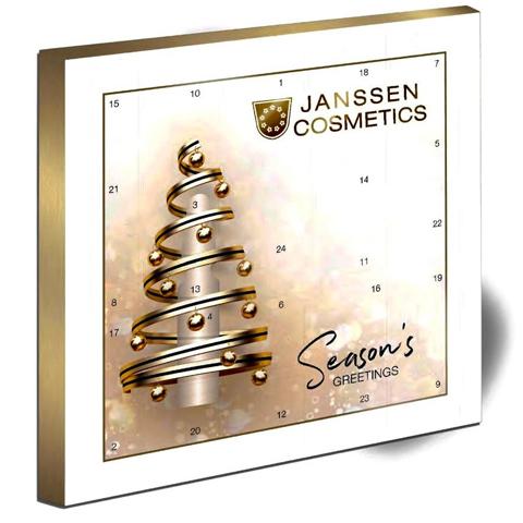 Janssen Christmas Promotions 2022: Новогодний ампульный календарь 2022 (Ampoule Advent Calendar)