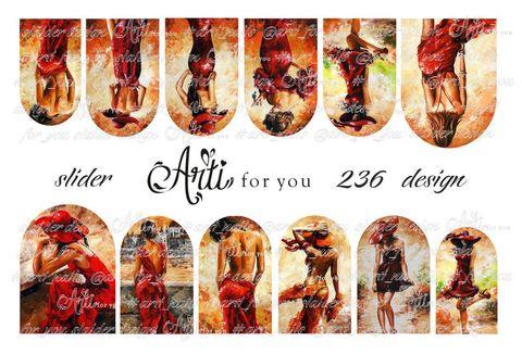 Слайдер наклейки Arti for you 236 купить за 100руб