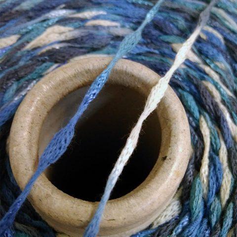 Фасонный хлопок NODINO 220 морская волна