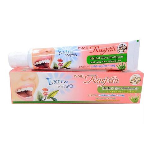 Травяная отбеливающая зубная паста с экстрактом гвоздики Isme Rasyan 30гр
