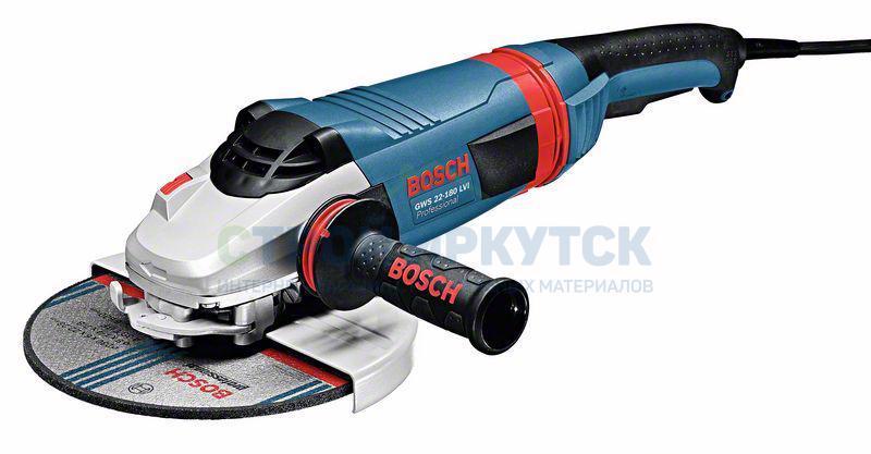 Шлифовальные машины Угловая шлифмашина Bosch GWS 22-180 LVI (0601890D00) 051df403901e0b3efa2f2b9cd72ef385
