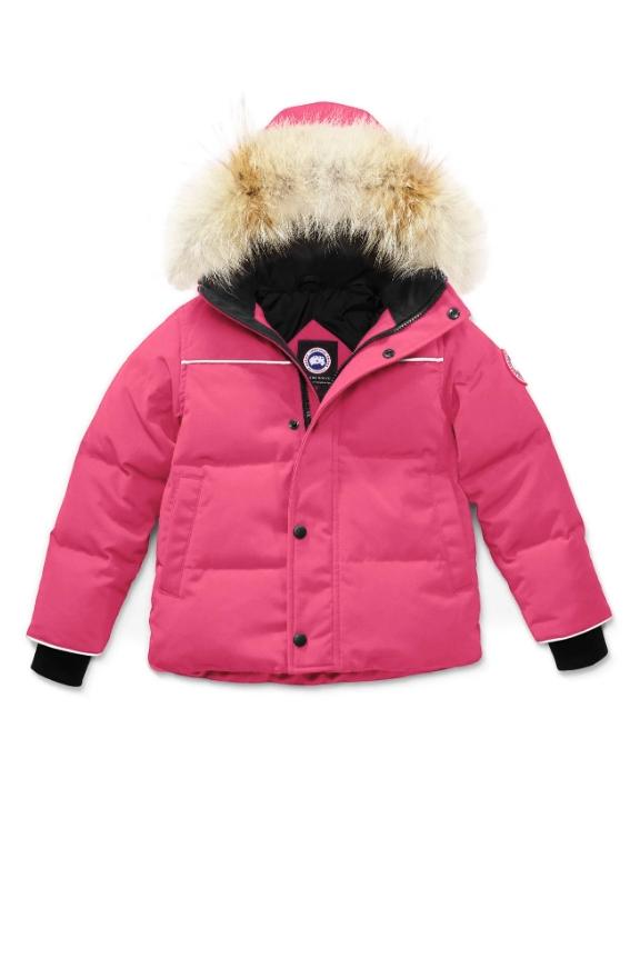 SNOWY OWL PARKA KIDS PINK 3862