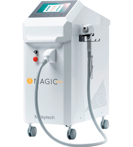 Универсальный лазерный аппарат Magic ONE Alex 755 нм 1.8 кВт