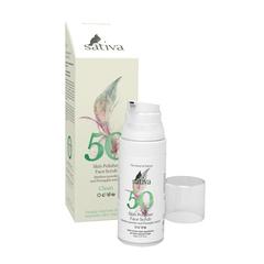 Sativa Полирующий скраб для лица №50