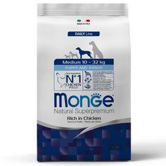 Корм для щенков средних пород Monge Dog Medium Puppy&Junior