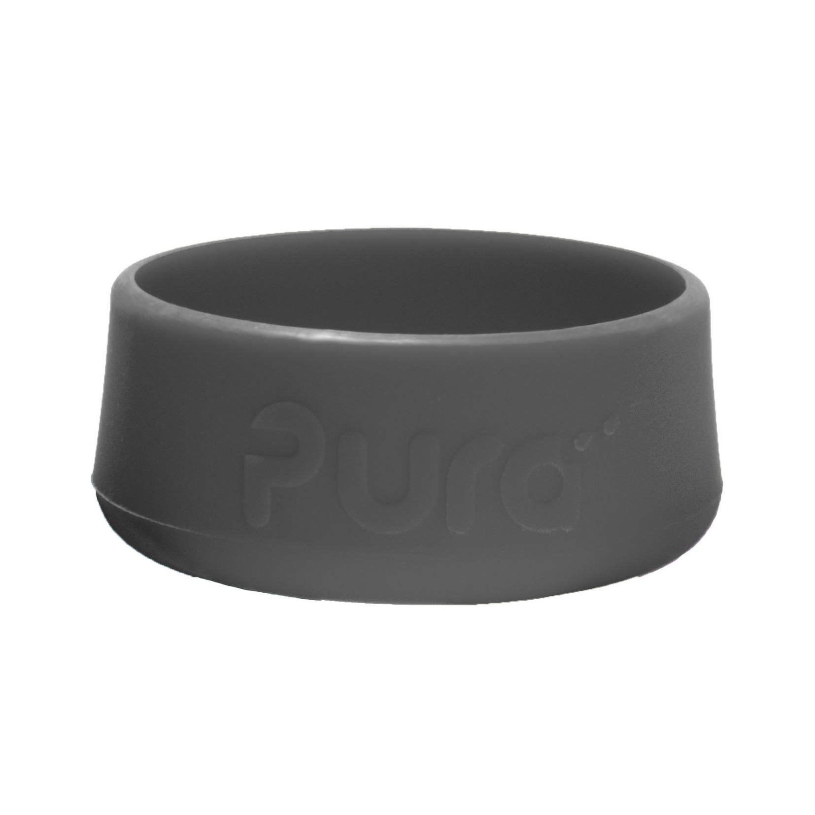 Силиконовый бампер для бутылок Pura Kiki серый