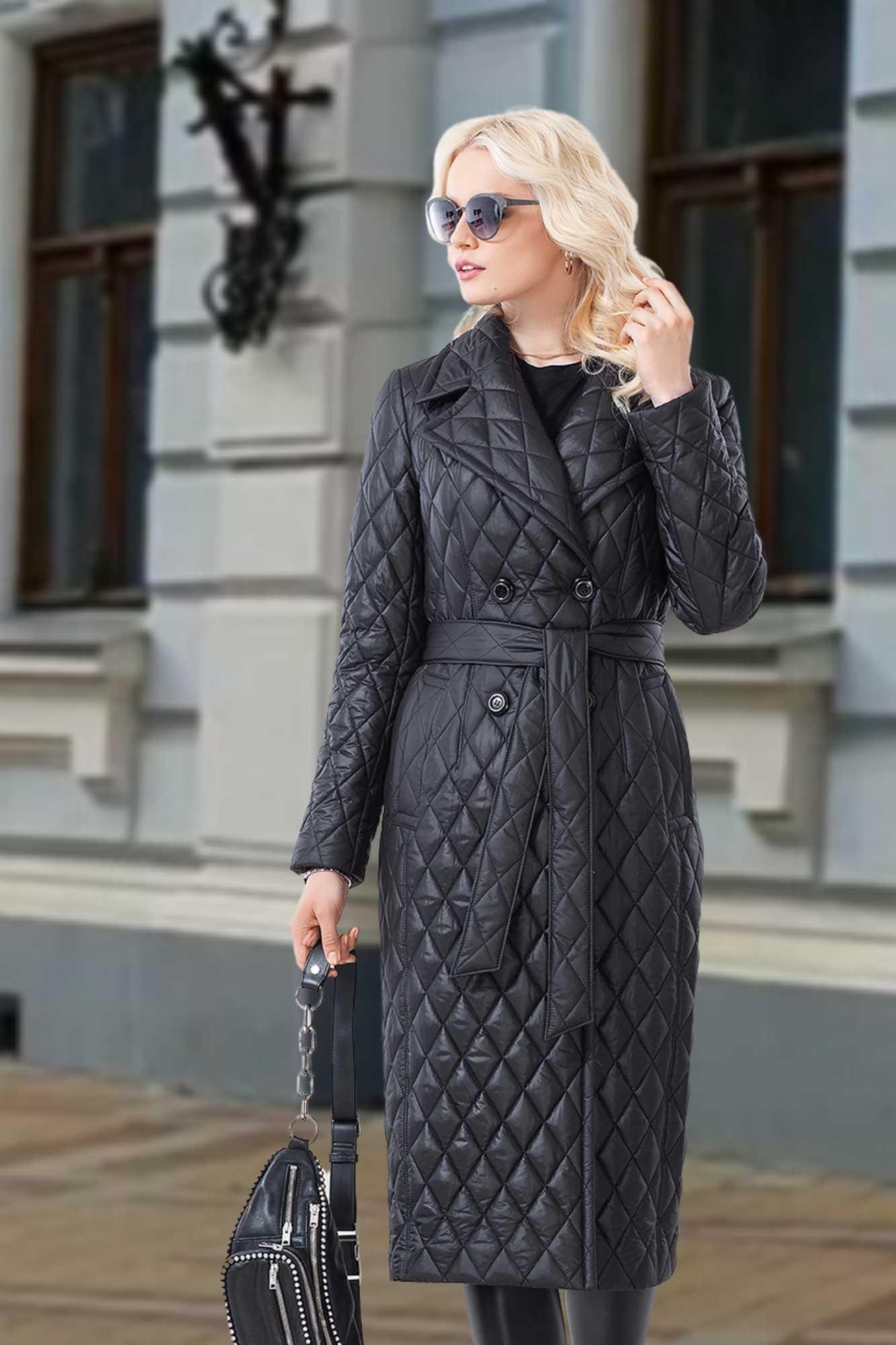 Куртка(пальто) женское стеганная