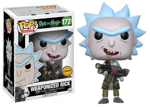 Weaponized Rick with open mouth Funko Pop! Vinyl Figure || Вооруженный Рик