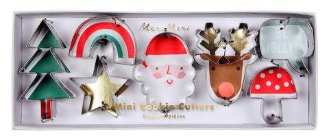 Маленькие рождественские формочки для печенья