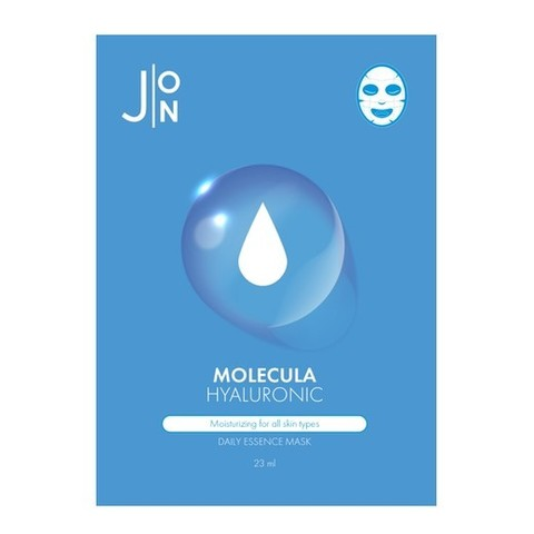 [J:ON] Ткан, маска д/лица ГИАЛУР. КИСЛОТА  MOLECULA HYALURONIC DAILY ESSENCE MASK 23 мл