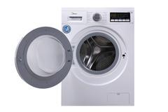 Машина стиральная Midea с фронтальной загрузкой отдельностоящая 1400 об/мин 7 кг 59,5х49,5x85 см белый 4627121252727 фото
