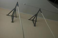 Консоль настенная для каната, шеста, груши, вынос 1 м.