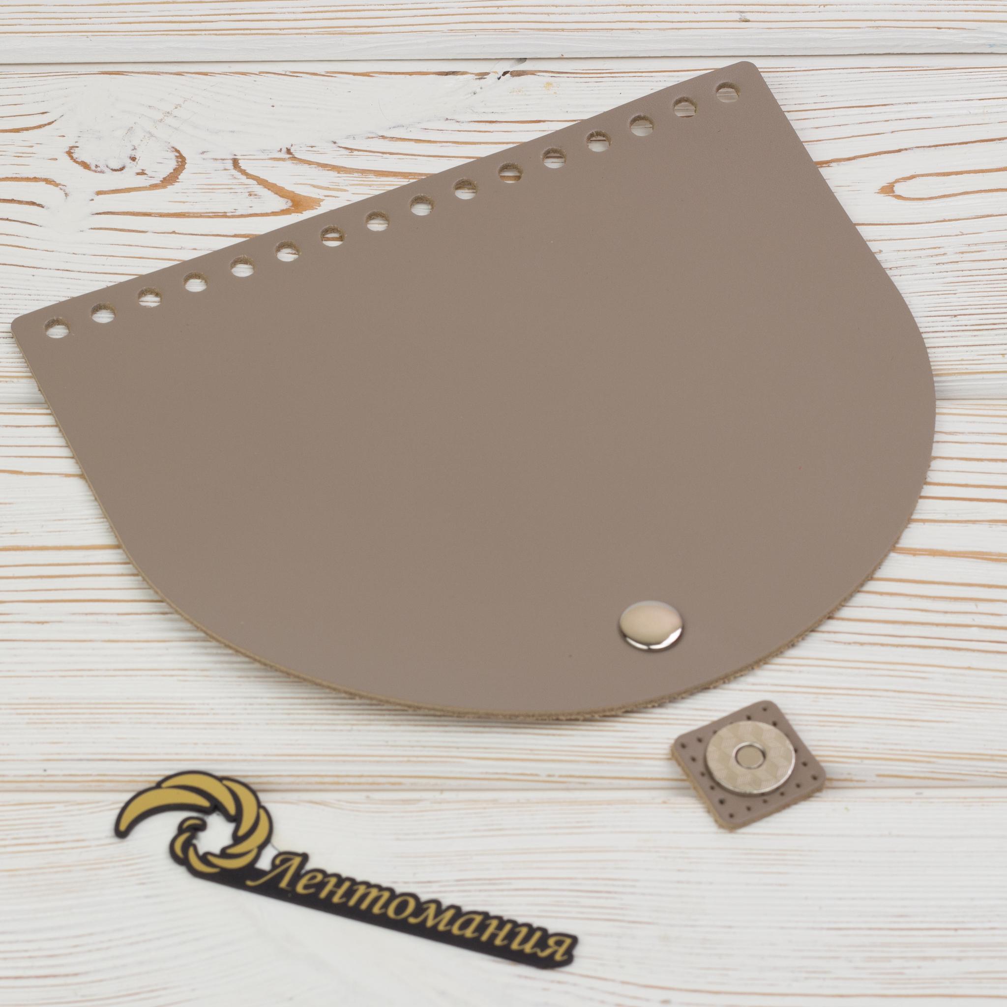 """Клапаны для сумки Клапан для сумочки кожаный с магнитной застжкой """"Мускат"""" 19*16 см IMG_4145.JPG"""
