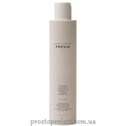 Previa Almond&Linseed Oil Taming Shampoo – Укрощающий шампунь