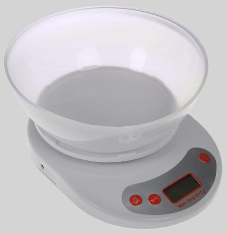 Весы с круглой чашей, до 5 кг